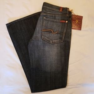 NWT 7 For All Mankind Flare Jeans